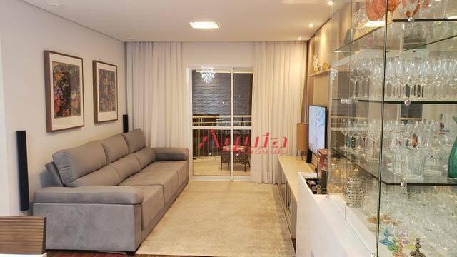 apartamento com 3 dormitórios à venda, 85 m² por r$ 530.000,00 - vila valparaíso - santo andré/sp - ap2049