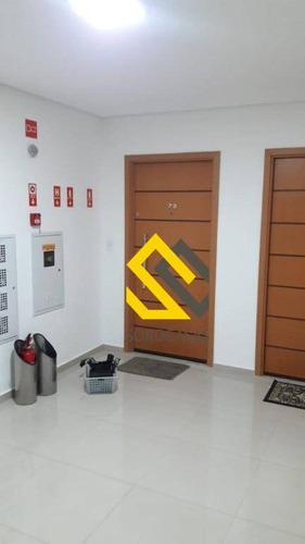 apartamento com 3 dormitórios à venda, 85 m² por r$ 572.000 - parque campolim - sorocaba/sp - ap0909