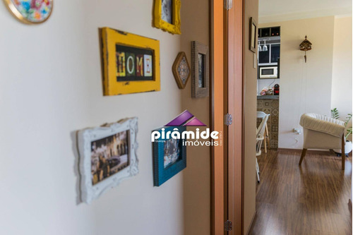apartamento com 3 dormitórios à venda, 85 m² por r$ 585.000 - bosque dos eucaliptos - são josé dos campos/sp - ap11062