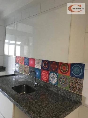apartamento com 3 dormitórios à venda, 85 m² por r$ 850.000 - jabaquara - são paulo/sp - ap5784