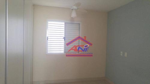 apartamento com 3 dormitórios à venda, 86 m² - condomínio avalon - hortolândia/sp - ap0072