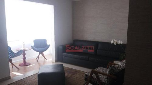 apartamento com 3 dormitórios à venda, 86 m² por r$ 700.000 - vila gumercindo - são paulo/sp - ap0250