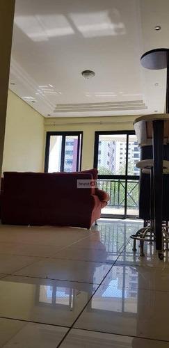 apartamento com 3 dormitórios à venda, 86 m² - vila adyana - são josé dos campos/sp - ap3806
