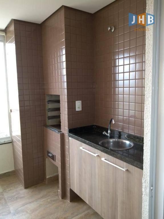 apartamento com 3 dormitórios à venda, 87 m²- jardim satélite - são josé dos campos/sp - ap1827