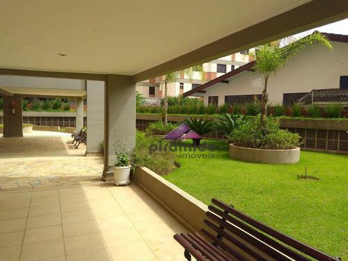 apartamento com 3 dormitórios à venda, 87 m² por r$ 320.000,00 - vila adyana - são josé dos campos/sp - ap8814
