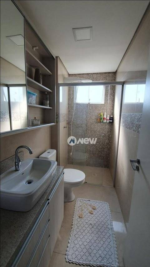 apartamento com 3 dormitórios à venda, 87 m² por r$ 350.000,00 - rondônia - novo hamburgo/rs - ap2587