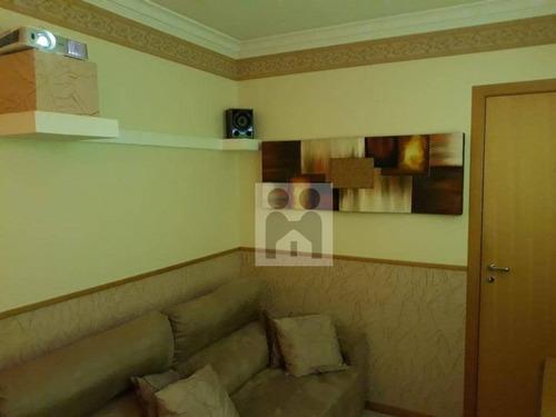 apartamento com 3 dormitórios à venda, 87 m² por r$ 450.000 - centro - ribeirão preto/sp - ap0929
