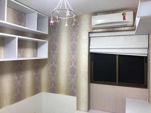 apartamento com 3 dormitórios à venda, 87 m² por r$ 480.000,00 - parnamirim - recife/pe - ap1936