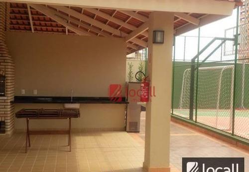 apartamento com 3 dormitórios à venda, 87 m² por r$ 560.000 - jardim novo mundo - são josé do rio preto/sp - ap1565
