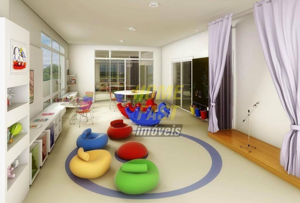 apartamento com 3 dormitórios à venda, 88 m² por r$ 550.000,00 - vila galvão - guarulhos/sp - ap0429
