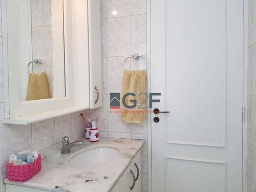 apartamento com 3 dormitórios à venda, 88 m² por r$ 563.000 - jardim chapadão - campinas/sp - ap8070