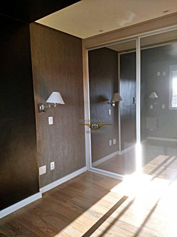 apartamento com 3 dormitórios à venda, 89 m² por r$ 1.100.000,00 - tatuapé - são paulo/sp - ap2064