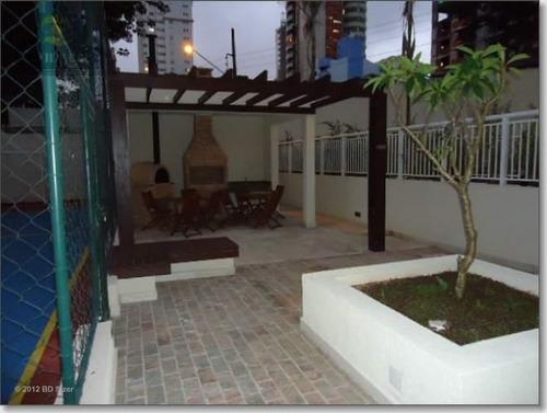 apartamento com 3 dormitórios à venda, 89 m² por r$ 644.000,00 - jardim - santo andré/sp - ap9824
