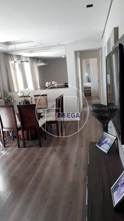 apartamento com 3 dormitórios à venda, 89 m² por r$ 720.000 - parque prado - campinas/sp - ap4041