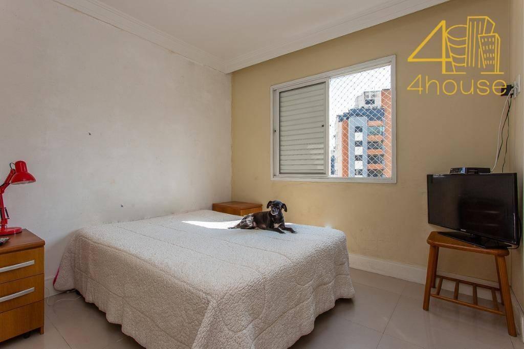 apartamento com 3 dormitórios à venda, 90 m² por r$ 438. - vila suzana - são paulo/sp - ap2449