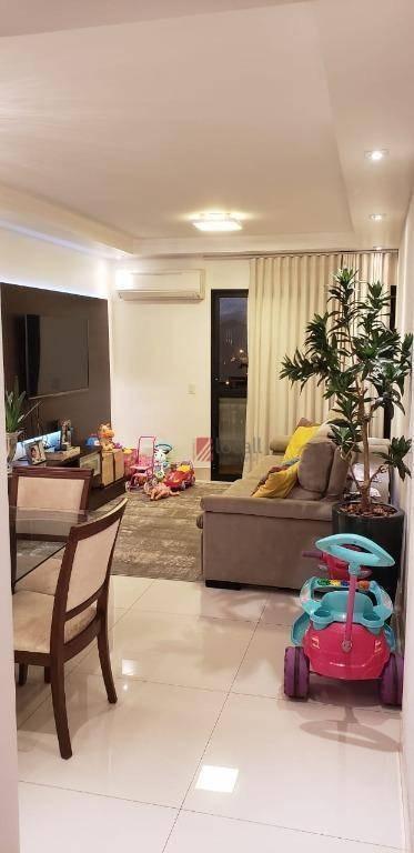apartamento com 3 dormitórios à venda, 90 m² por r$ 480.000 - redentora - são josé do rio preto/sp - ap2088