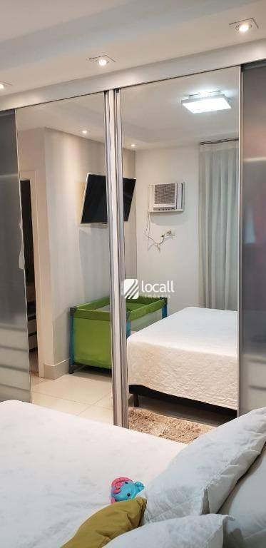 apartamento com 3 dormitórios à venda, 90 m² por r$ 495.000 - redentora - são josé do rio preto/sp - ap1904