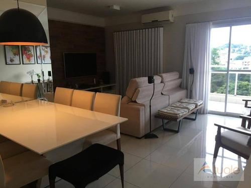 apartamento com 3 dormitórios à venda, 92 m² - parque prado - campinas/sp - ap6117
