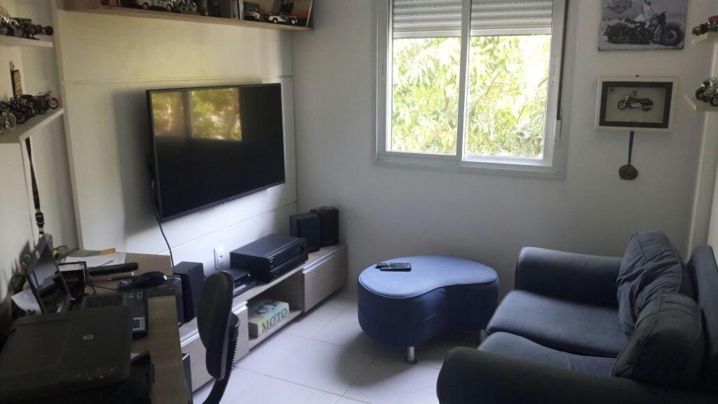 apartamento com 3 dormitórios à venda, 92 m² por r$ 370.000 - centro - são josé/sc - ap3880