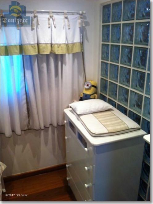 apartamento com 3 dormitórios à venda, 92 m² por r$ 419.000,10 - vila gilda - santo andré/sp - ap3311