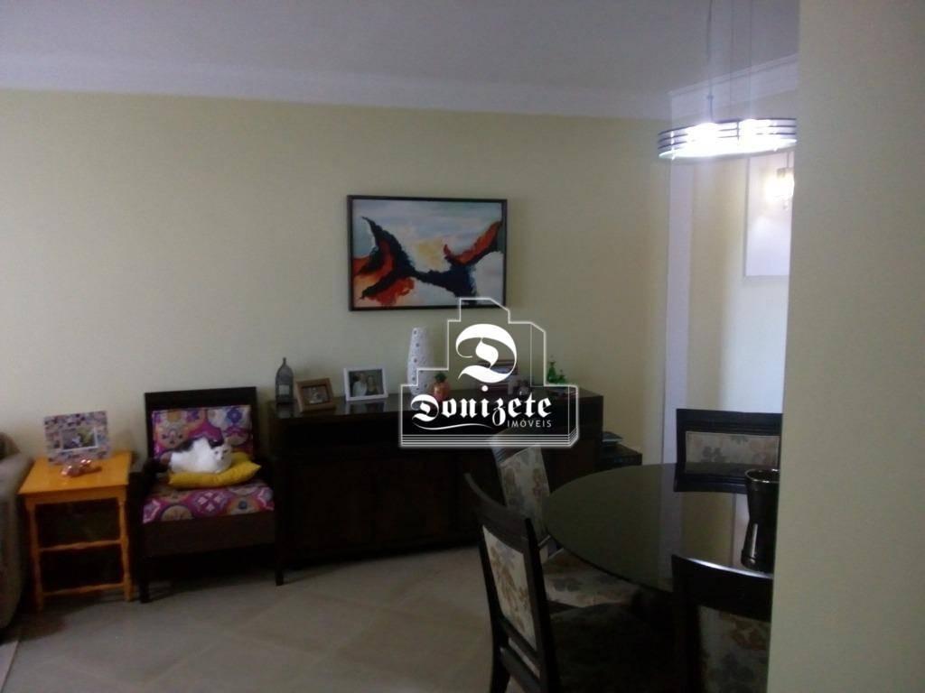 apartamento com 3 dormitórios à venda, 93 m² por r$ 630.000,00 - vila assunção - santo andré/sp - ap10346