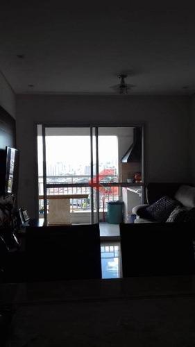 apartamento com 3 dormitórios à venda, 94 m² por r$ 590.000 - centro - são bernardo do campo/sp - ap2840