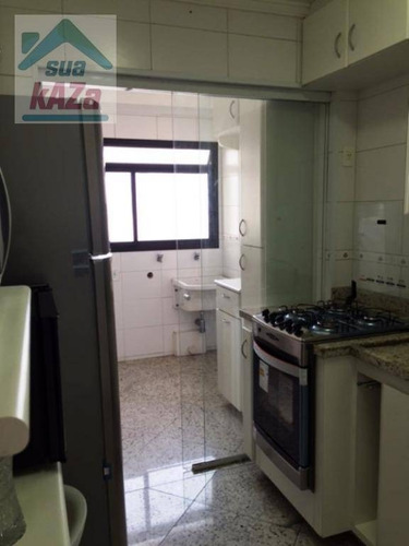 apartamento com 3 dormitórios à venda, 94 m² por r$ 732.000 - mooca - são paulo/sp - ap0229