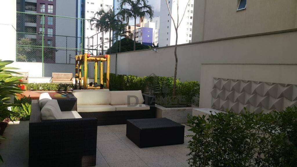 apartamento com 3 dormitórios à venda, 94 m² por r$ 879.000 - vila itapura - campinas/sp - ap17873