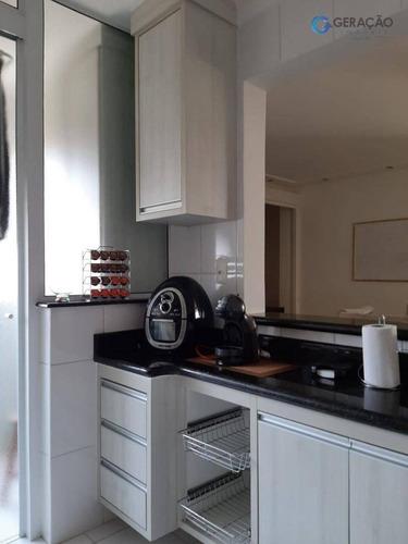 apartamento com 3 dormitórios à venda, 95 m² - jardim satélite - são josé dos campos/sp - ap11859