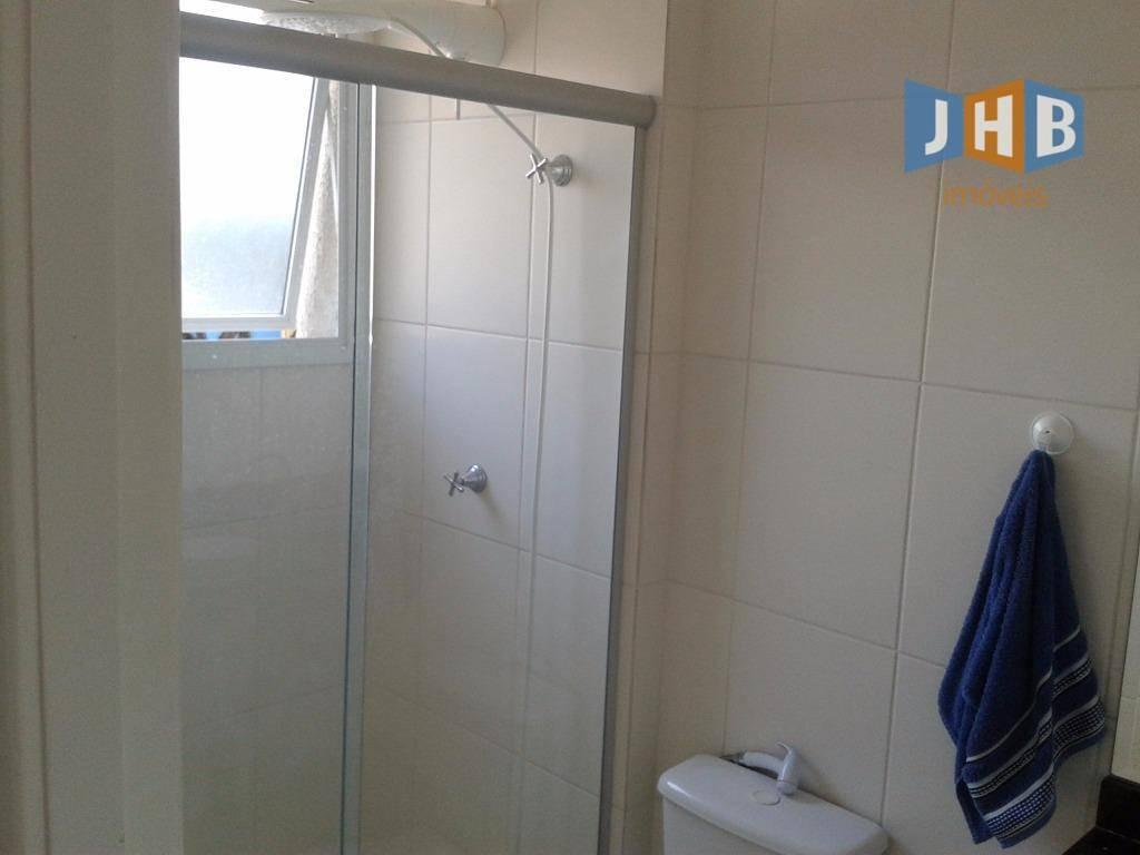 apartamento com 3 dormitórios à venda, 95 m² por r$ 445.000,00 - jardim satélite - são josé dos campos/sp - ap1242