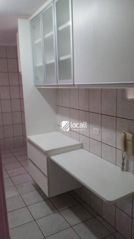 apartamento com 3 dormitórios à venda, 95 m² por r$ 475.000 - redentora - são josé do rio preto/sp - ap1911