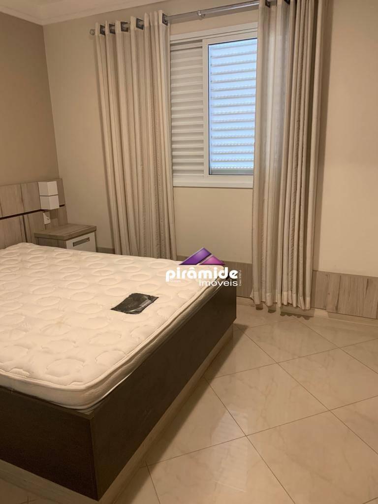 apartamento com 3 dormitórios à venda, 95 m² por r$ 545.000 - jardim aquarius - são josé dos campos/sp - ap10912