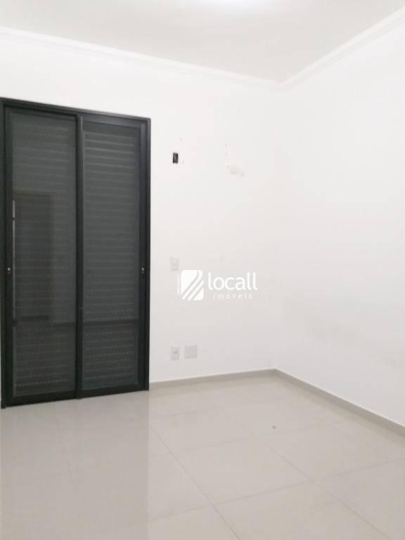 apartamento com 3 dormitórios à venda, 95 m² por r$ 580.000 - gaivota ii - são josé do rio preto/sp - ap1601