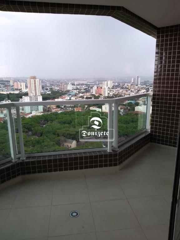 apartamento com 3 dormitórios à venda, 95 m² por r$ 664.800,10 - vila assunção - santo andré/sp - ap6326