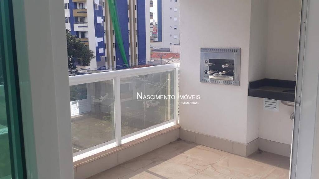 apartamento com 3 dormitórios à venda, 96 m² por r$ 648.000,00 - jardim guanabara - campinas/sp - ap0574