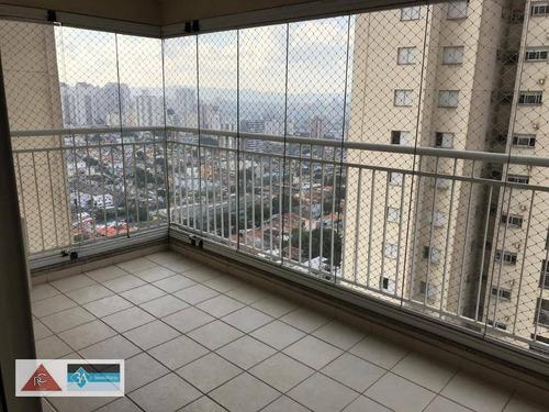 apartamento com 3 dormitórios à venda, 96 m² por r$ 720.000 - vila carrão - são paulo/sp - ap5503