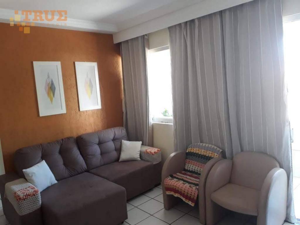 apartamento com 3 dormitórios à venda, 97 m² por r$ 285.000,00 - tamarineira - recife/pe - ap3480