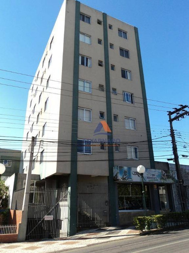 apartamento com 3 dormitórios à venda, 97 m² por r$ 290.000 - centro - ponta grossa/pr - ap1079