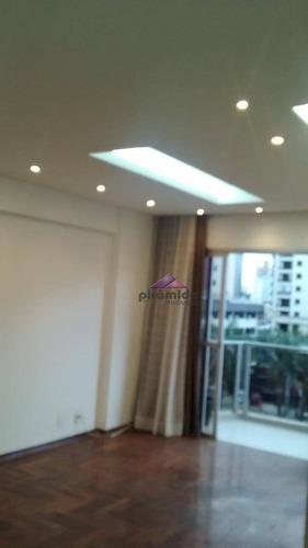 apartamento com 3 dormitórios à venda, 97 m² por r$ 450.000 - vila adyana - são josé dos campos/sp - ap8598