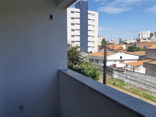 apartamento com 3 dormitórios à venda, 98 m² por r$ 290.000,00 - papicu - fortaleza/ce - ap1704