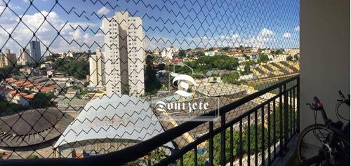 apartamento com 3 dormitórios à venda, 98 m² por r$ 630.000 - vila baeta neves - são bernardo do campo/sp - ap11649
