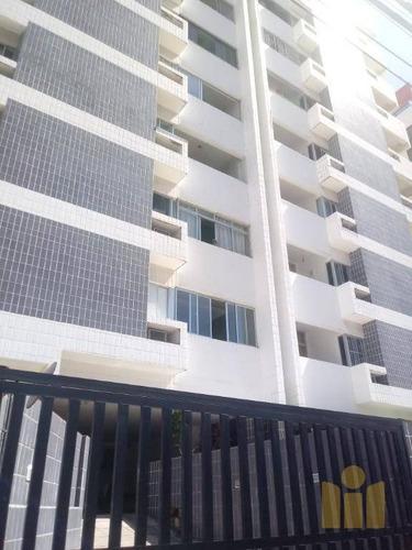 apartamento com 3 dormitórios à venda, 99 m² por r$ 270.000 - jatiúca - maceió/al - ap0474