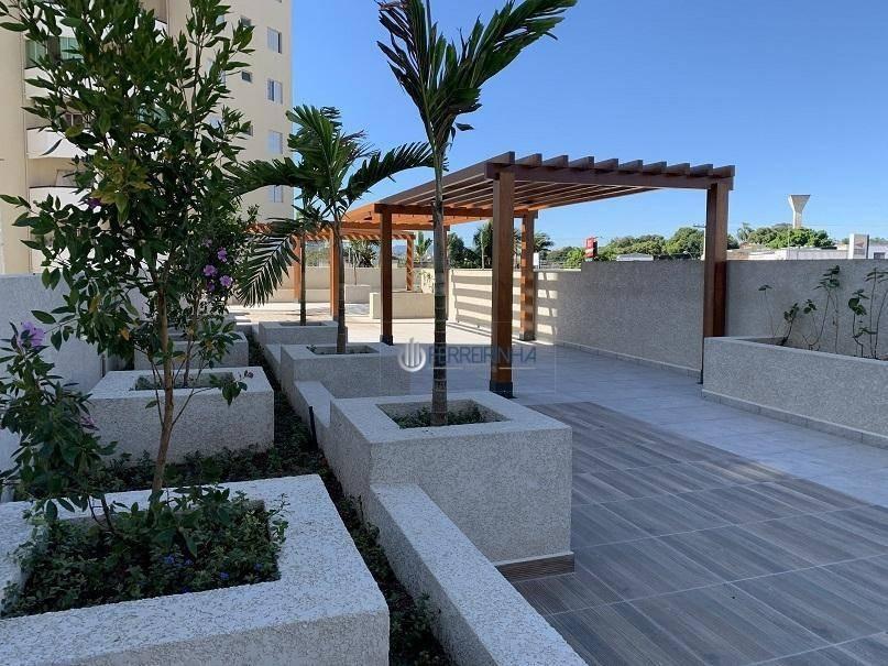 apartamento com 3 dormitórios à venda com churrasqueira na sacada, 68 m² por r$ 265.000 - pátio home resort - taubaté/sp - ap3442