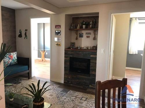 apartamento com 3 dormitórios à venda e locação, 244 m² por r$ 750.000 e r$ 2.400,00- nova rússia - ponta grossa/pr - ap0794