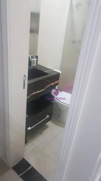 apartamento com 3 dormitórios à venda - jardim santa helena - suzano - ap0524