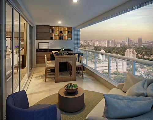 apartamento com 3 dormitórios à venda, pompéia