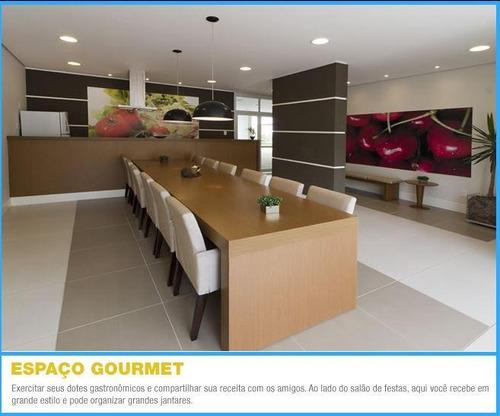 apartamento com 3 dormitórios à venda por r$ 563.000 - jardim zaira - guarulhos/sp - ap1186