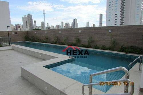 apartamento com 3 dormitórios à venda - setor bueno - goiânia/go - ap0315