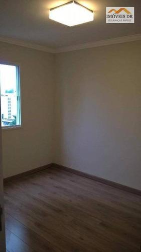 apartamento com 3 dorms, 1 suíte, 2 vagas , mansões sto. anotnio - ap0127
