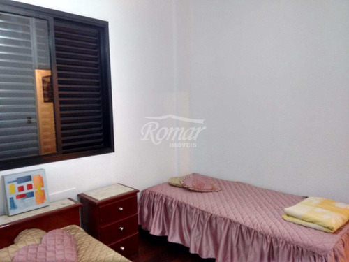 apartamento com 3 dorms, aparecida, santos, cod: 82 - a82